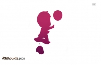 Baby Cartoon Doll Silhouette