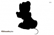 Winnie The Pooh Silhouette Clipart