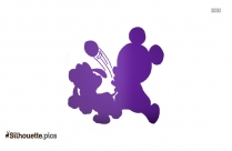 Lollipop Wizard Silhouette Icon