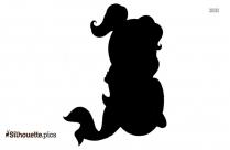 Thumbelina Silhouette Illustration