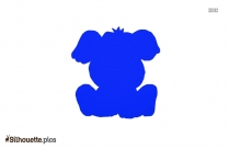 Puppy Dog Silhouette Vector And Graphics