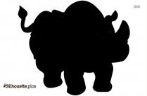 Hippo Baby Mojo Clipart Silhouette