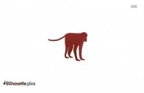 Chimpanzee Silhouette Icon