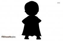 Baby Superhero Clip Art Silhouette
