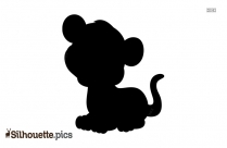 Baby Tiger Silhouette