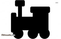 Baby Train Silhouette Icon