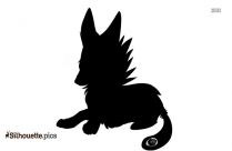 Wolf Walking Silhouette Picture