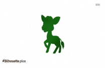 Baby Zebra Png Silhouette