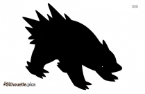 Pokemon Cartoon Character Silhouette