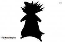 Badger Pokemon Silhouette