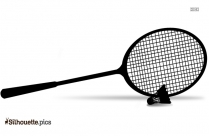 Badminton Racket Sports Silhouette