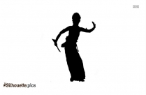 Lady Dancing Silhouette Clip Art