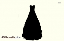 Petal Dress Silhouette