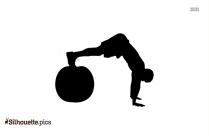 Ball Yoga Silhouette