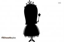 Cute Little Ballerina Silhouette