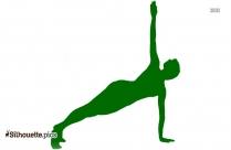 Ballerina Body Workout Clip Art Silhouette Image