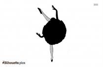 Ballerina Fairy Silhouette Picture