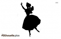 Ballerina Fairy Silhouette