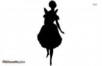 Ballerina Silhouette Free Vector Art