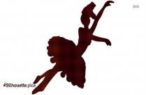 Ballerina Girl Silhouette