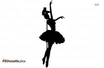 Nutcracker Ballet Vector Silhouette