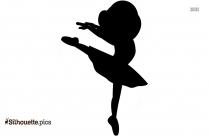Ballerina Crown Vector Silhouette