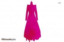 Ballerina Princess Dress Silhouette Image And Vector