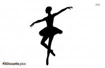 Ballerina Dancer Silhouette Image