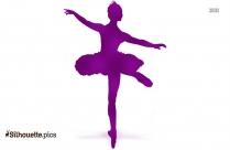 Ballet Dancer Silhouette PNG
