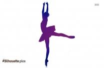 Ballet Dancer Vector Silhouette