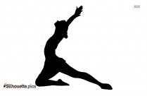 Girl Dancing Ballerina Silhouette