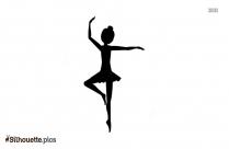 Ballerina Silhouette Illustration