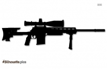 Ballista Rifle Silhouette Image And Vector