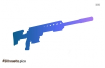 War Weapon Silhouette Image