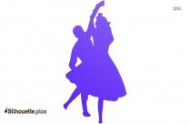 Ballroom Dancing Clip Art Silhouette