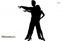 Ballerina Dance Silhouette