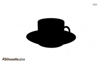 BALMORAL TEA CUP AND SAUCER SILHOUETTE