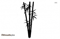 Bamboo Tree Silhouette