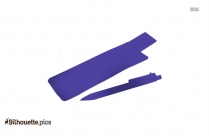 Bamboo Ballpoint Pen Symbol Silhouette