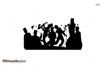 Band Clipart Silhouette