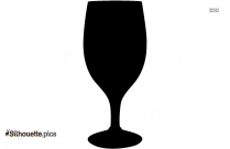 Bar Glass Silhouette