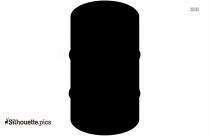 Black Container Silhouette Image