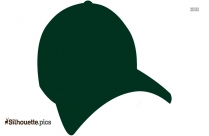 clipart baseball cap silhouette