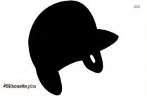 Baseball Helmet Clip Silhouette