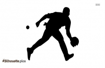 Football Player Silhouette Art