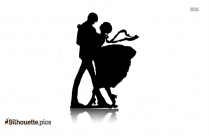 Basic East Coast Swing Dance For Couples Silhouette
