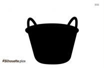 Basket Emoji Silhouette