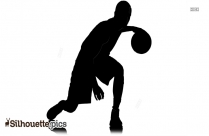 Basketball Player Silhouette | Sports Silhouette