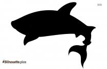 Basking Shark Silhouette Icon