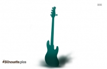Black Bass Silhouette Image